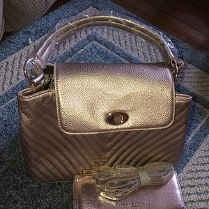 Knock off bag and wallet